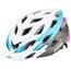 Alpina D-Alto L.E. Helmet white-titanium-cyan-pink